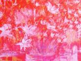 flore en rojo