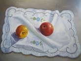 manzanas con pañito
