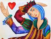 dama de corazón