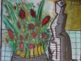 flores y bodegon