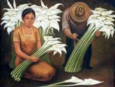 vendedores de flores