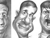 caricaturas de argentinos