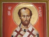 st. john chrysostom 50 x 37 cm egg tempera on wood
