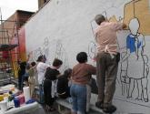 of the immigrants mural: y yo ya estaba! i was already here! 8