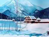 casita de invierno en eslovaquia