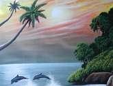 los delfines de cosa rica.