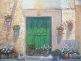 fachada de  maderuelo