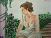 """acercamiento """"la dama en el rosal"""""""