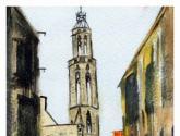 torre de santa maría del mar (barcelona)