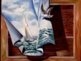 y…el mar en la tela