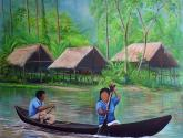 originarios en wuajibaca por el rio orinoco