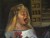 infanta enfadada