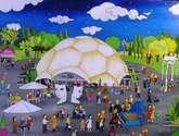 cúpula del milenio valladolid