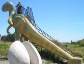 dinosaurio infantil(www.gracielaalbridi.cl)llamar al 091395673 ( fono casa 71-293109 talca)