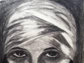 retrato ix actriz de cine mudo