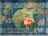 """conceptáculo #6 de la serie """"el jardín de las delicias"""""""