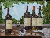 colección de vinos - réplica