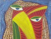 cabeça-máscara xiii - henriqueta