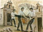 costaleros de jerez, homenaje al babucha