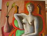 mujer y sillon