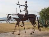quijote sobre caballo