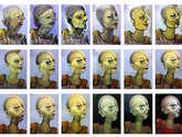 proceso creativo de la obra cancer fotografías del proceso