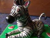 zebra in love