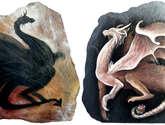 dragones yin&yang