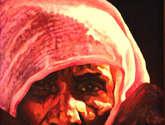 vieja indú, luz, color,sombra, arte, india, color