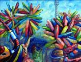 lechones en el carnaval de santiago de los caballeros.