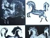 capuchinos horses