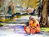 monjos budistes
