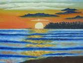 amanecer en la playa la libertad 2