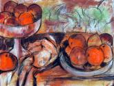 bodegon con naranjas ii