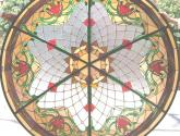 cupula de  vitral