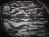 paisaje negro