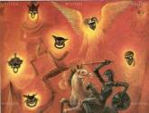 don quijote y la carreta de las cortes de la muerte