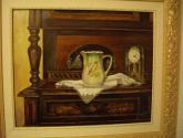 el locero (oleo del natural, pintado en tabla)
