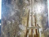 pintura de caballete