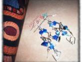 aretes de plata peruana - lindas joyas