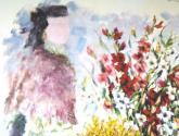 a vendedeira de flores