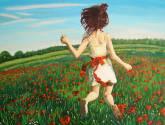flores rojas ii