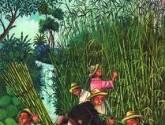 recolectores de bambu