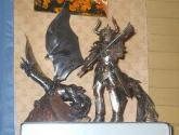 centauro y dragon