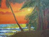 amanecer en la playa la libertad 1