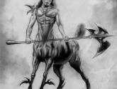 centauro de herradura deforme