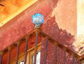 balcón de cristal