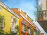 calle de cartagena de indias