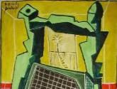 la silla verde