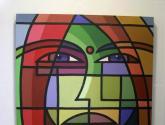 A sua mirada III Pintura Acrílico Lienzo Figura de España